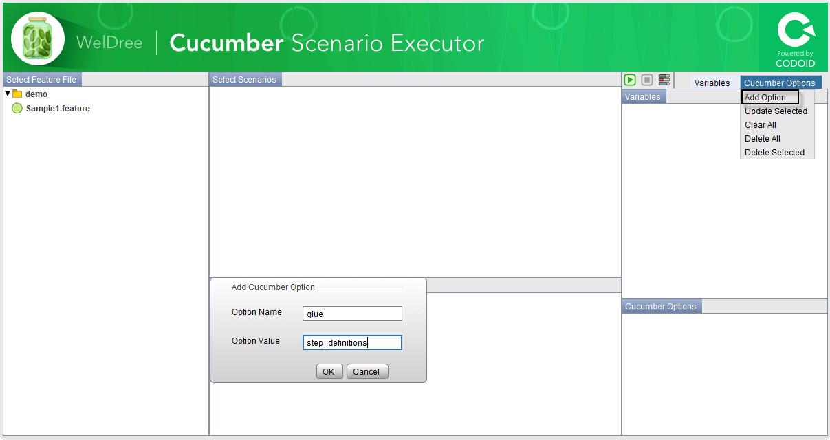 Cucumber Scenario Executor