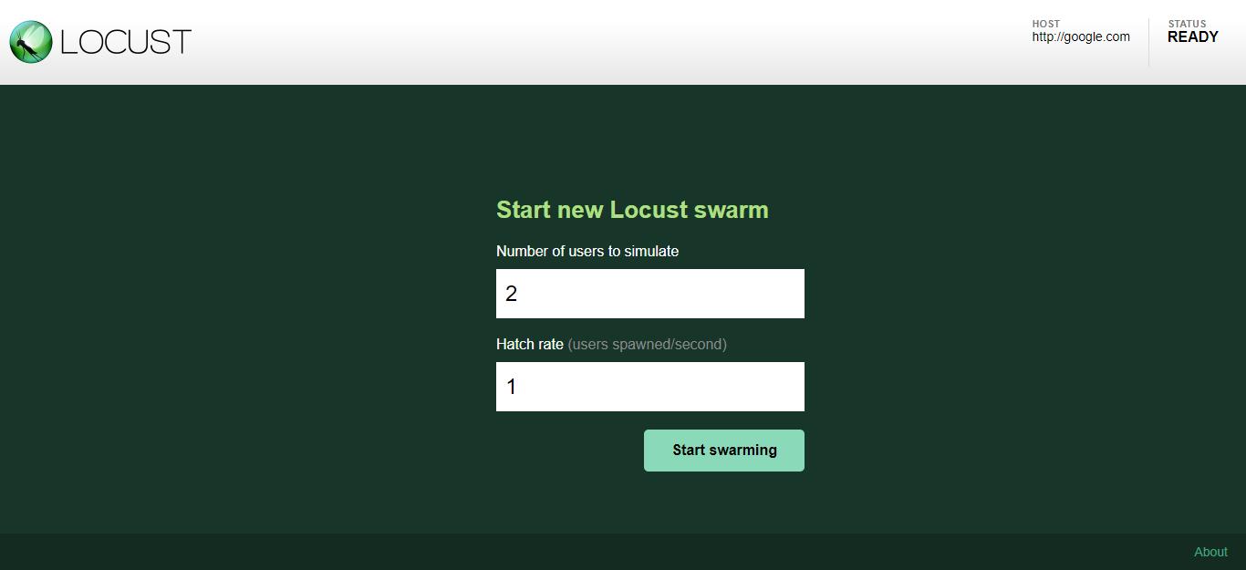 Locust Web Monitor