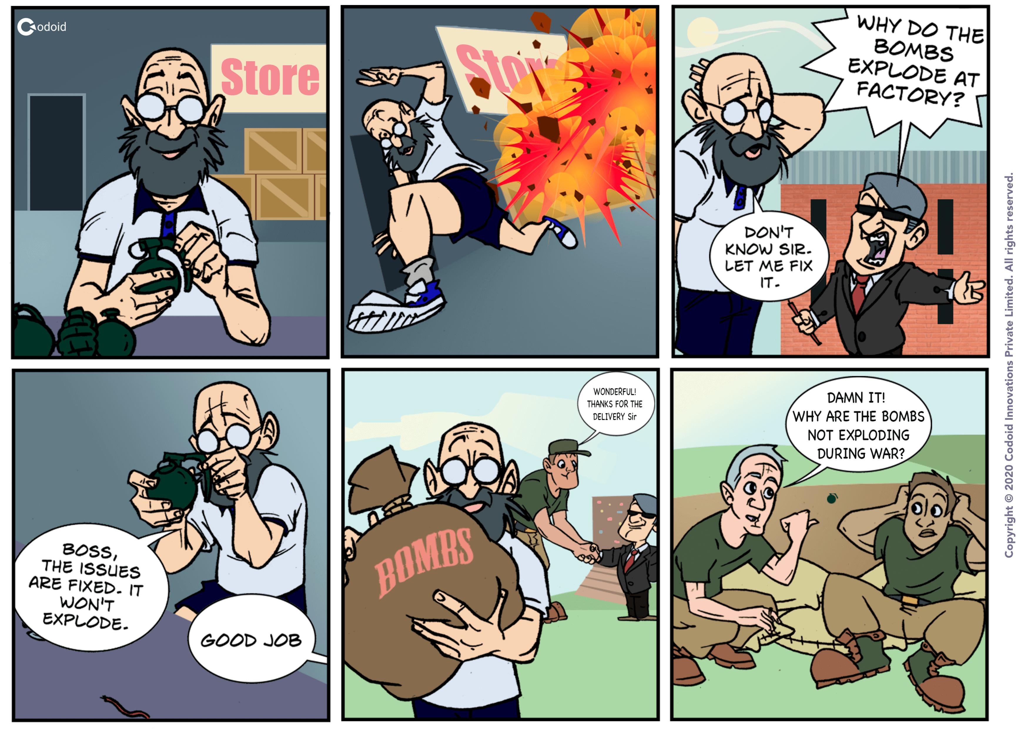 Bomb Factory Comics