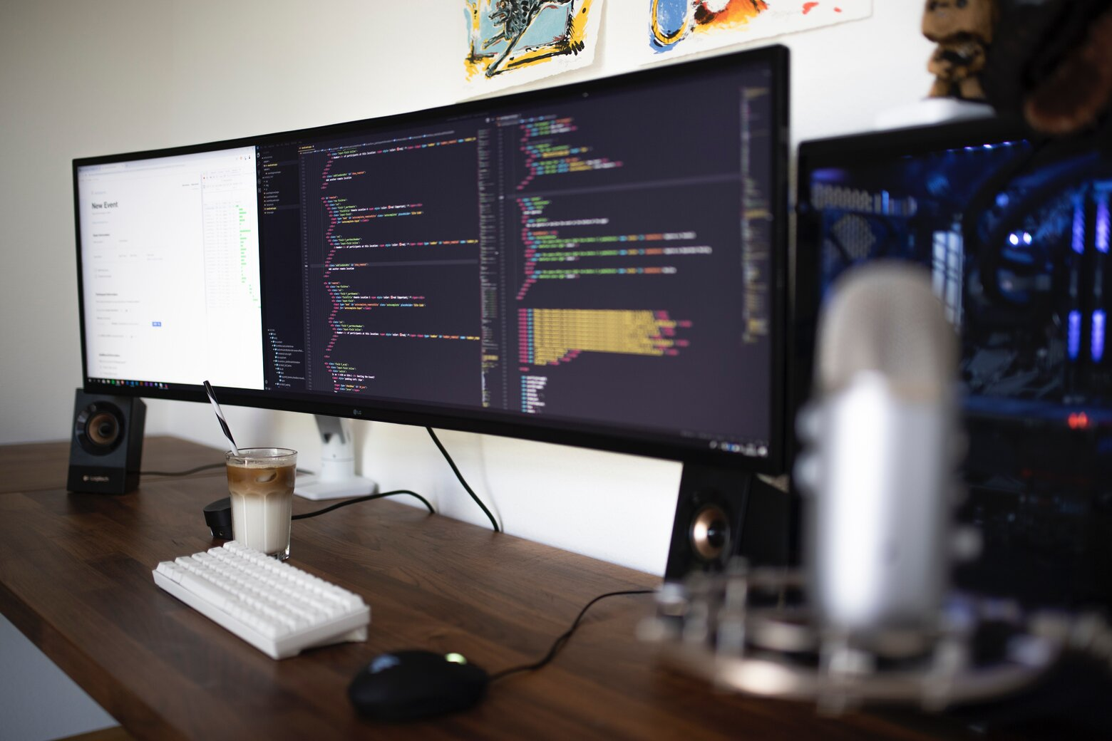 programmer working on React Native