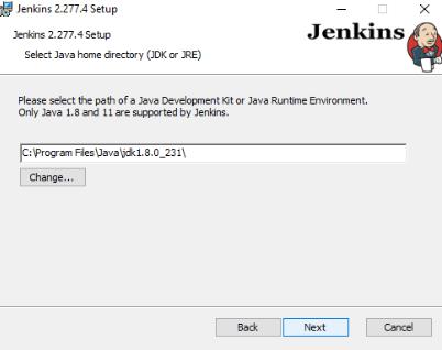 Java Home Directory - Setup