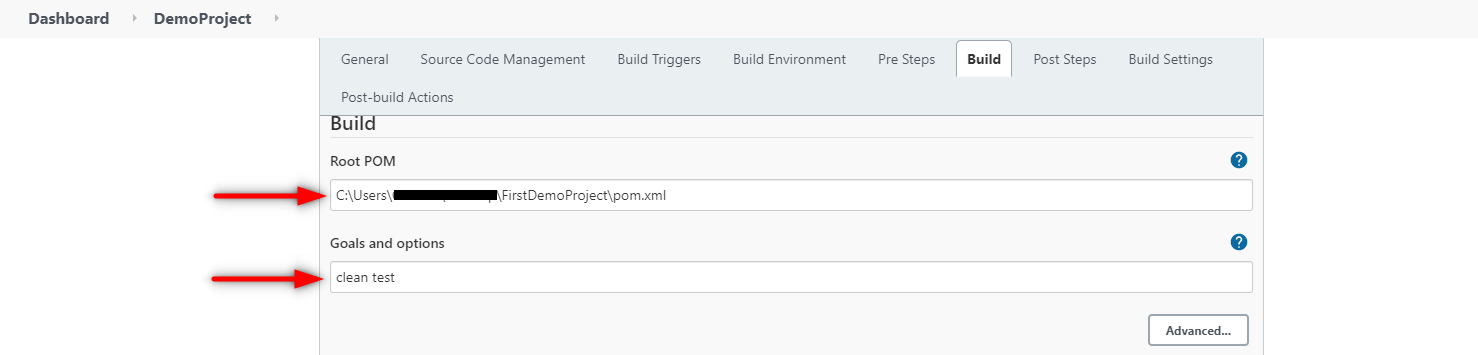 Jenkins Integration with Selenium Build Section